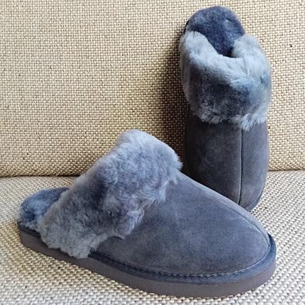 Pantoffelslipper - antraciet