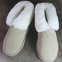 Pantoffel - beige<br /><FONT COLOR=&#34;#FFFFFF&#34;>~ gratis bezorgd in NL! ~</font>