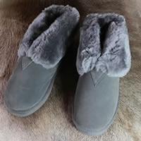 Pantoffel - antraciet<br /><FONT COLOR=&#34;#FFFFFF&#34;>~ gratis bezorgd in NL! ~</font>